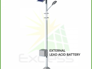 Solar Street Light Manufacturers in Coimbatore - Excess Energy