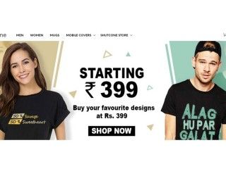 Buy Cool T-shirts for Mens Starting at Rs.399 - Shutcone
