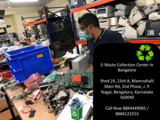 E-waste Recycler | E-waste collection centre | Electronics waste disposal