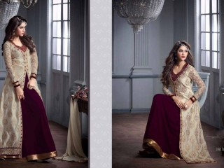 Designer clothing Long Dresses and Party wear Gown or Lehenga