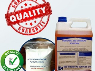 Buy SSD CHEMICAL, ACTIVATION POWDER and MACHINE available FOR BULK cleaning! WhatsApp or Call:+919582553320