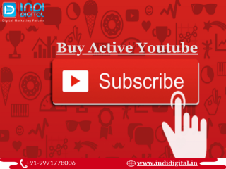 How to buy active subscribers on youtube the right way