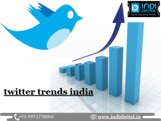 How to get twitter trends in India