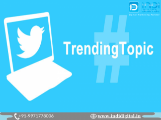 Find the best twitter trending service in India
