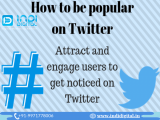 How to get popular on twitter