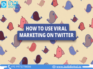 Get the best twitter viral marketing services in India