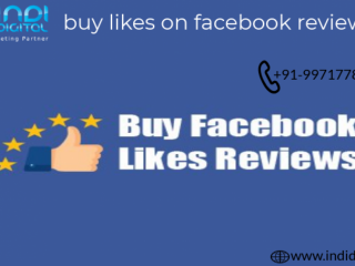 Get the best buy likes on facebook reviews