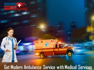 Get Road Ambulance in Pitampura with Top-Class Medical Treatment
